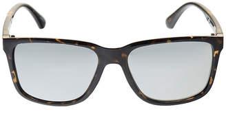 Dockers Tortoise Retro Rectangular Sunglasses