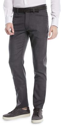Ermenegildo Zegna Textured Wool-Blend 5-Pocket Pants