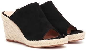 Stuart Weitzman Marbella suede wedge sandals