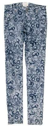 Boy By Band Of Outsiders Low-Rise Printed Jeans