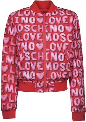 Love Moschino Logo Bomber
