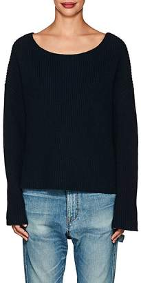 Nili Lotan Women's Martindale Rib-Knit Cotton-Blend Sweater