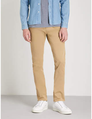 Nudie Jeans Slim Adam slim-fit tapered stretch organic-cotton trousers