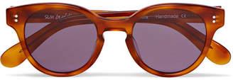 Sun Buddies Akira Round-Frame Tortoiseshell Acetate Sunglasses