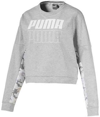 Puma Womens Round Neck Long Sleeve Sweatshirt
