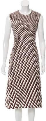 Celine Printed Midi Dress w/ Tags