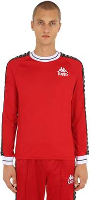 Kappa Long Sleeve T-Shirt W/ Logo Bands