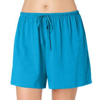 Jockey Plus Size Pajamas: Modern Cotton Pajama Shorts