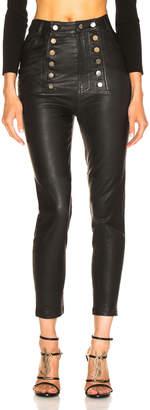 Marissa Webb Alma Stretch Leather Pant