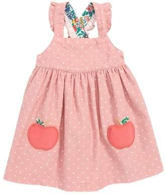 Boden Mini Applique Pinafore Dress