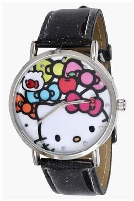 Hello Kitty Women's Glitter Strap Watch