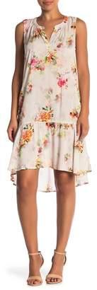 Velvet by Graham & Spencer Nerissa Floral Hi-Lo Dress