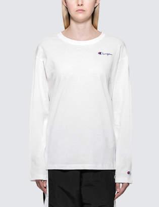 Champion Reverse Weave Small Logo Long Sleeve T-shirt