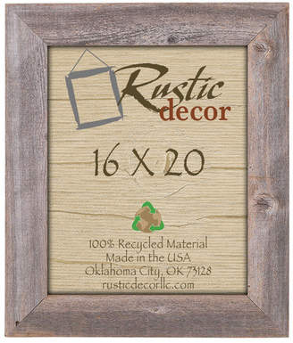 Union Rustic Parks Reclaimed Barn Wood Wall Picture Frame