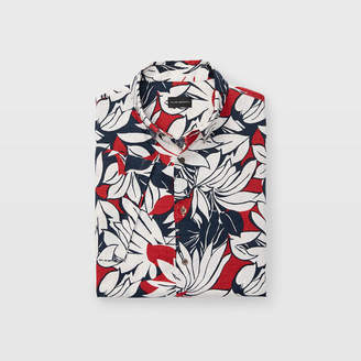 Club Monaco Slim Tropic Short-Sleeve Shirt