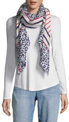 Karl Lagerfeld Mixed Print Scarf
