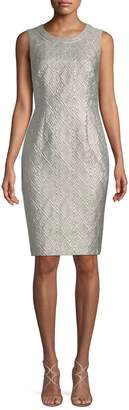 Max Mara Women's Accento Geometric Sheath Dress