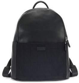 Emporio Armani Leather Backpack