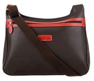 Longchamp Coated Canvas Shoulder Bag