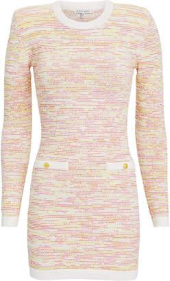 Ronny Kobo Delta Tweed Mini Dress