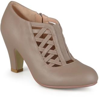 Journee Collection Reita Women's High Heel Ankle Boots
