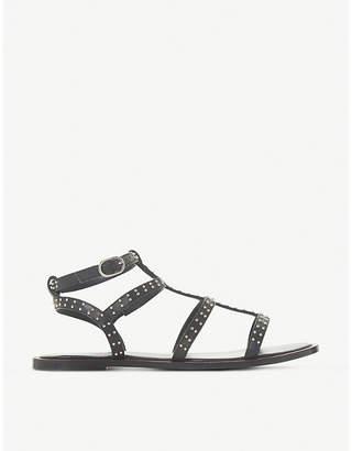 Dune Lakke studded leather gladiator sandals