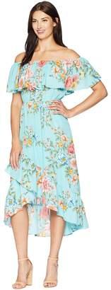 American Rose Elodie Off the Shoulder Maxi Dress Women's Dress
