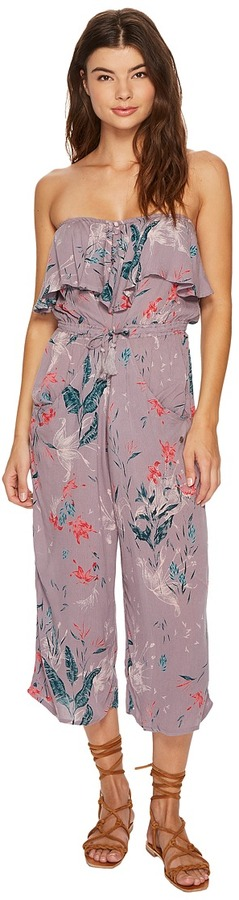 Roxy - Romantic Daze Printed Romper Women's Jumpsuit & Rompers One Piece