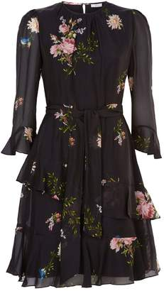 Joie Kayane Floral Tiered Dress