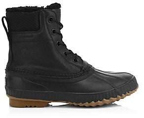Sorel Men's Cheyanne II Shearling-Lined Waterproof Leather Boots