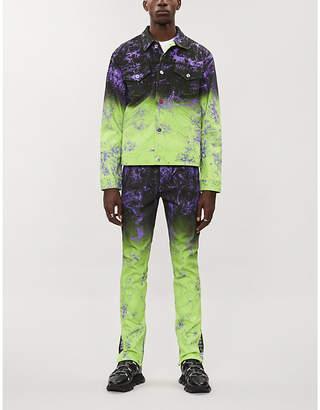 Burton MJB - MARC JACQUES Marc Jacques x Will and Rich Pax graphic-print denim jacket