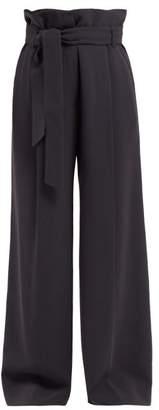 Max Mara Voto Trousers - Womens - Navy