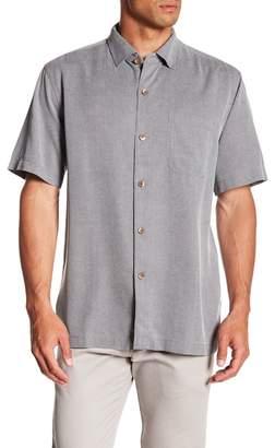 Tommy Bahama Coastal San Clemente Short Sleeve Regular Fit Silk Camp Shirt