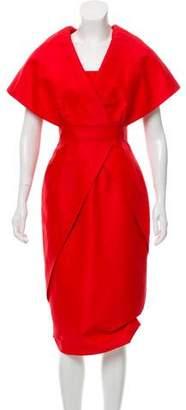 Andrew Gn Midi Evening Dress