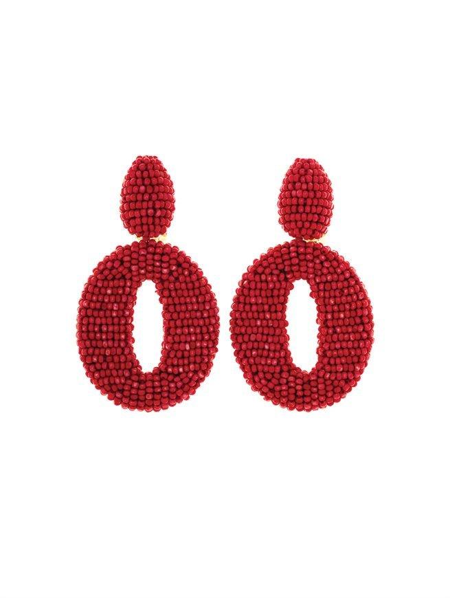 Oscar de la Renta Oscar O Earring