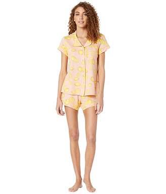The Cat's Pajamas Lemon Short Pajama Set