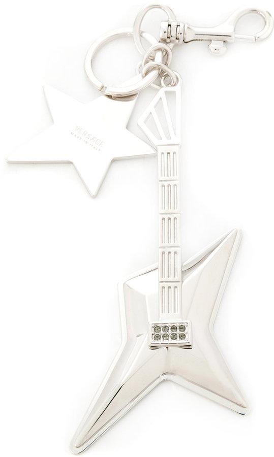 VersaceVersace guitar star keyring