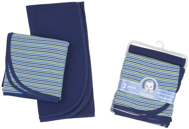 Gerber Thermal Blanket - Yellow - 2 pk