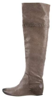 CNC Costume National Leather Knee-High Boots