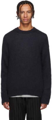 Moncler Genius 2 1952 Black Mohair Sweater