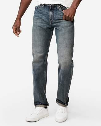 Express Classic Straight Medium Wash Original Soft Cotton Jeans
