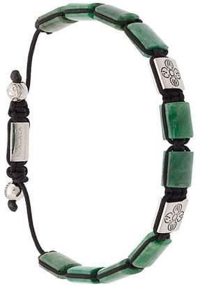 Nialaya Jewelry Dorje Flatbead beaded bracelet