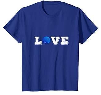 Bowling T Shirt - Love Bowling - Bowling Ball - Bowling Gift