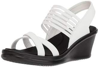 Skechers Cali Women's Rumblers-Solar Burst Wedge Sandal