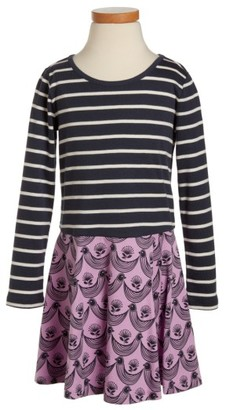 Toddler Girl's Tea Collection Mixed Print Dress $29.50 thestylecure.com