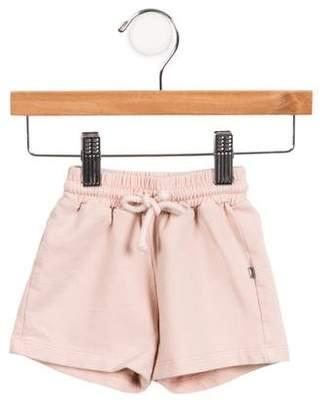Oeuf Girls' Knit Drawstring Shorts
