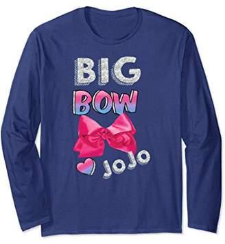 Nickelodeon Big Bow Jojo Photo Long Sleeve T-shirt