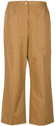 Sonia Rykiel poplin straight-leg trousers