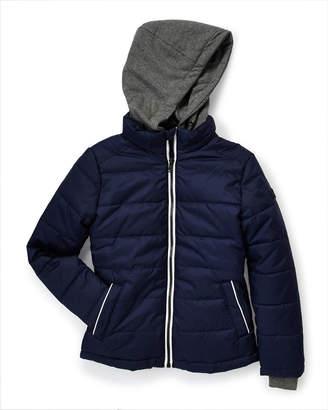 Michael Kors Boys 8-20) Jersey Hood Puffer Jacket