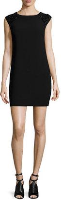 Trina Turk Embellished-Cap-Sleeve Sheath Dress $298 thestylecure.com